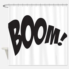 BOOM! Shower Curtain