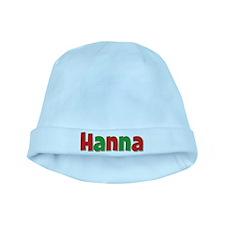 Hanna Christmas baby hat