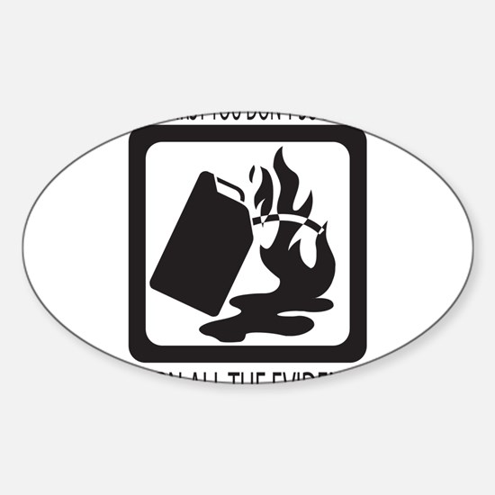 If at first you dont succeed Sticker (Oval)