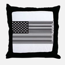 Capitalist Flag Throw Pillow