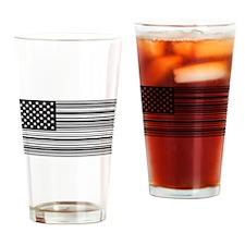 Capitalist Flag Drinking Glass