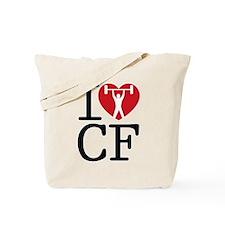 Funny Cross fit Tote Bag
