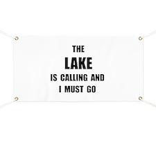 Lake Calling Banner