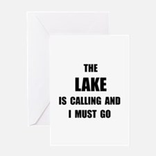 Lake Calling Greeting Card