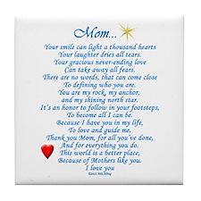 Mom... Tile Coaster