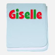 Giselle Christmas baby blanket