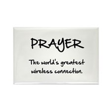 Prayer Wireless Rectangle Magnet (10 pack)
