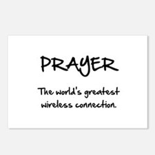 Prayer Wireless Postcards (Package of 8)