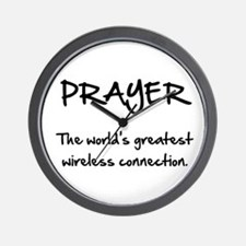 Prayer Wireless Wall Clock