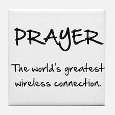Prayer Wireless Tile Coaster