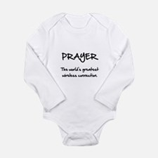 Prayer Wireless Long Sleeve Infant Bodysuit