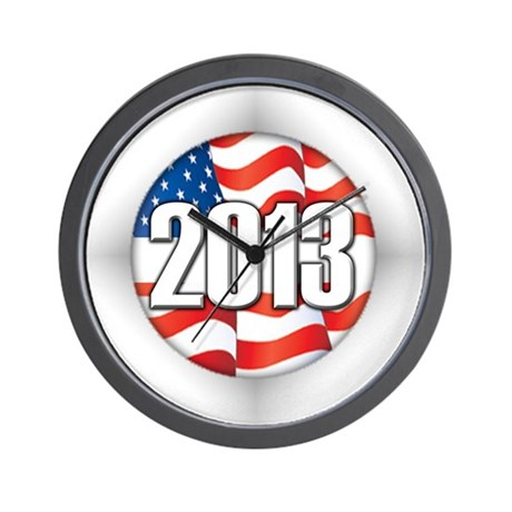 2013 Round Logo Wall Clock