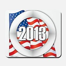 2013 Round Logo Mousepad