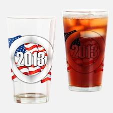 2013 Round Logo Drinking Glass