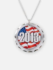 2013 Round Logo Necklace