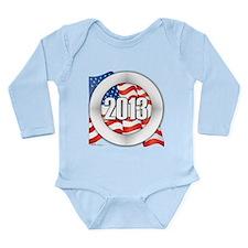 2013 Round Logo Long Sleeve Infant Bodysuit