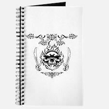 Skull Sword Graphic Journal
