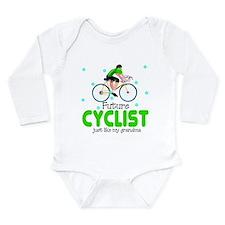 Future Cyclist like Grandma Baby Body Suit
