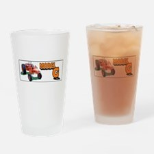 Farmers tractor Drinking Glass