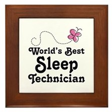 Sleep Technician Framed Tile