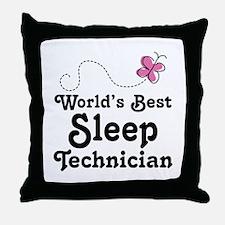 Sleep Technician Throw Pillow