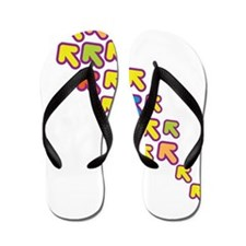 Colorful Arrows Flip Flops