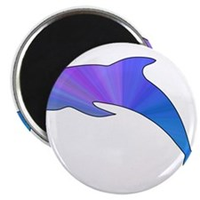 "Colorful Dolphin 2.25"" Magnet (100 pack)"