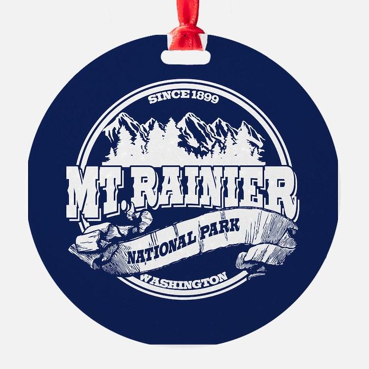 Mt. Rainier Old Circle Ornament