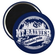 Mt. Rainier Old Circle Magnet