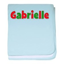 Gabrielle Christmas baby blanket