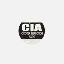 CIA: Cooter Inspection Agent Mini Button