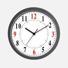 Traditional Lines Wall Clock