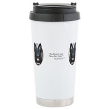 Cute Rcmp Travel Mug