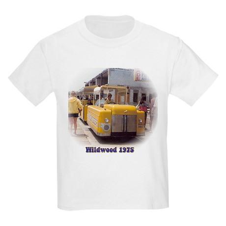 Boardwalk Tram Kids Light T-Shirt