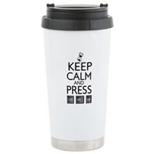 Keep calm Funny IT computer geek humor Travel Mug