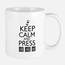 Keep calm Funny IT computer geek humor Mug