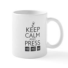 Keep calm Funny IT computer geek humor Small Mugs