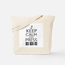 Keep calm Funny IT computer geek humor Tote Bag
