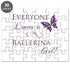 Ballerina Girl Puzzle