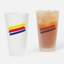 Colorful Paint Drinking Glass