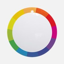 Color Wheel Ornament (Round)