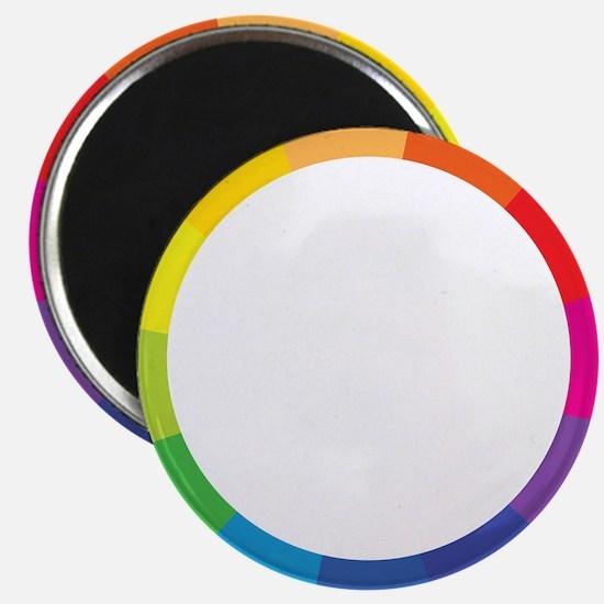 """Color Wheel 2.25"""" Magnet (100 pack)"""