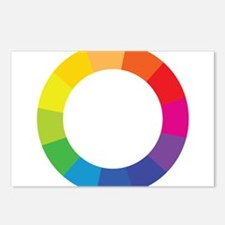 Color Wheel Postcards (Package of 8)