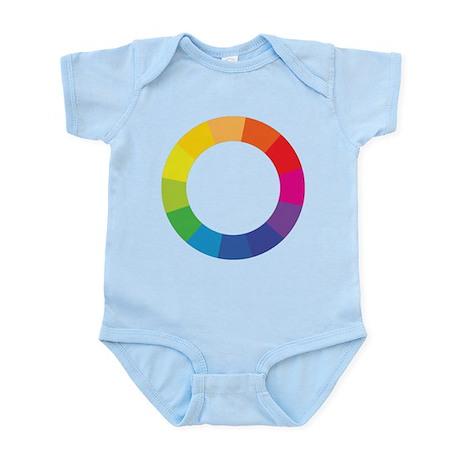 Color Wheel Infant Bodysuit