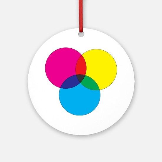 Colors Ornament (Round)