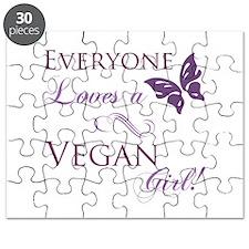 Vegan Girl Puzzle