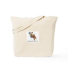 Pajamas and Coffee logo Tote Bag