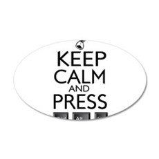 Keep Calm and press control Alt funny Wall Decal
