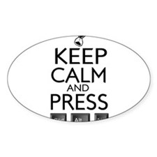 Keep Calm and press control Alt funny Decal