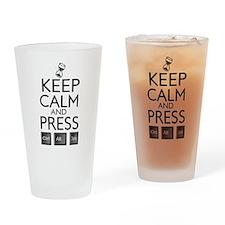 Keep Calm and press control Alt funny Drinking Gla